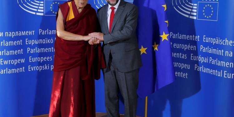 Le Dalaï Lama voit l'Europe comme un espoir pour le Tibet