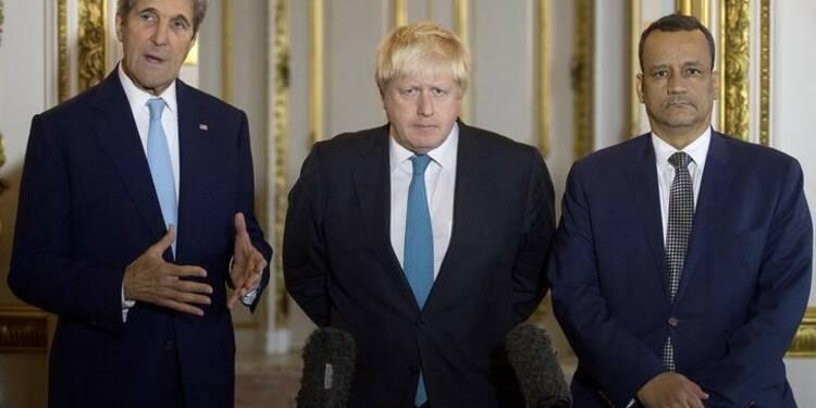 Washington et Londres appellent à une trêve immédiate au Yémen