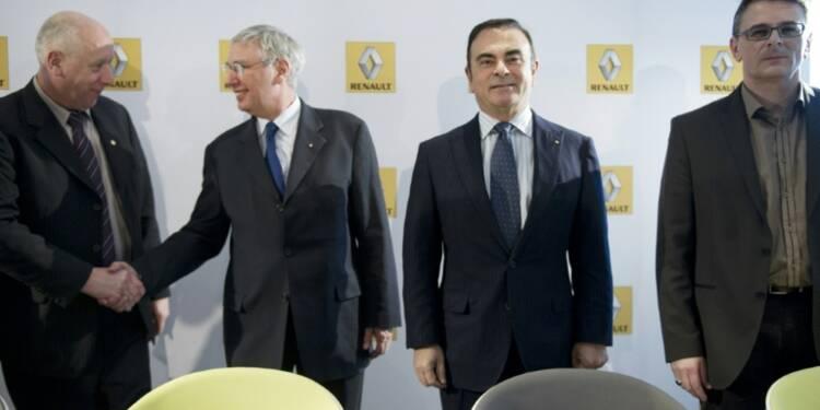 Renault: coup d'envoi de la renégociation de l'accord compétitivité