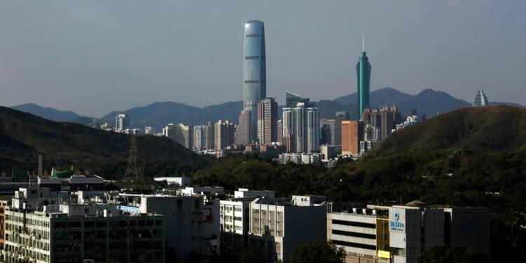 La croissance ralentit à Hong Kong
