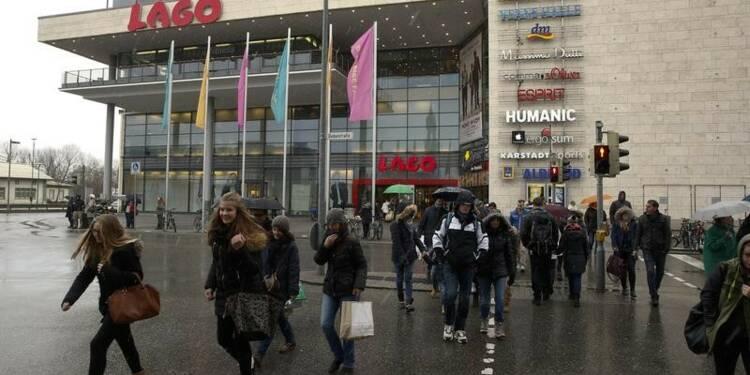 En Allemagne, inflation confirmée à -0,8% en janvier, +1,9% l'an