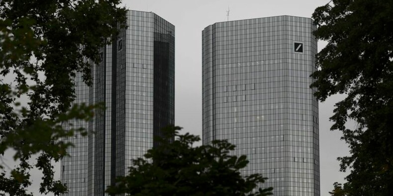 Deutsche Bank rebondit après l'évocation d'un compromis aux USA