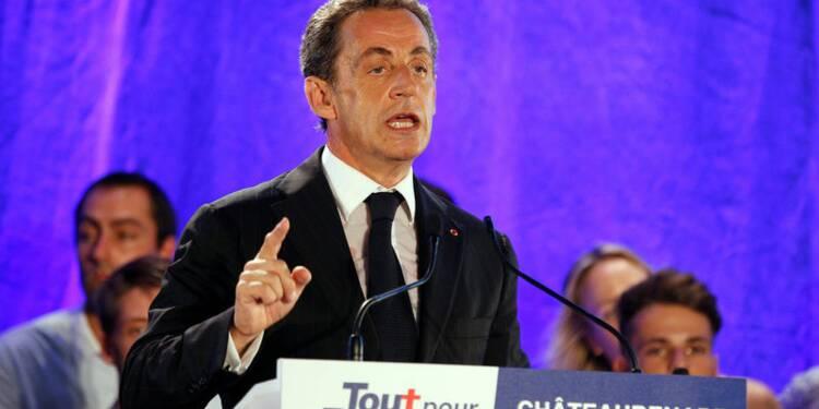 "A Châteaurenard, Nicolas Sarkozy promet de ""rétablir l'autorité"""