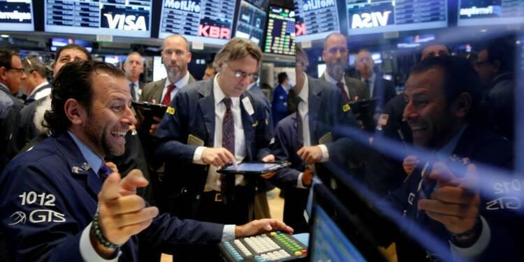 Le Dow Jones gagne 0,6%, le Nasdaq prend 0,24%