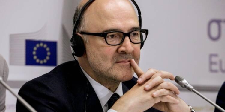 """Traité de libre échange UE-USA:  Moscovici ne juge """"pas pertinent"""" de suspendre les négociations"""