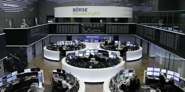 Les Bourses européennes irrégulières dans les premiers échanges