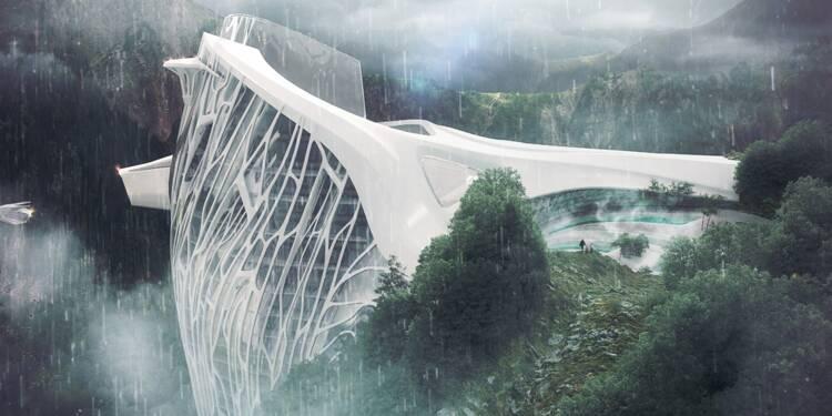 Découvrez cet hôtel futuriste au sommet des Alpes