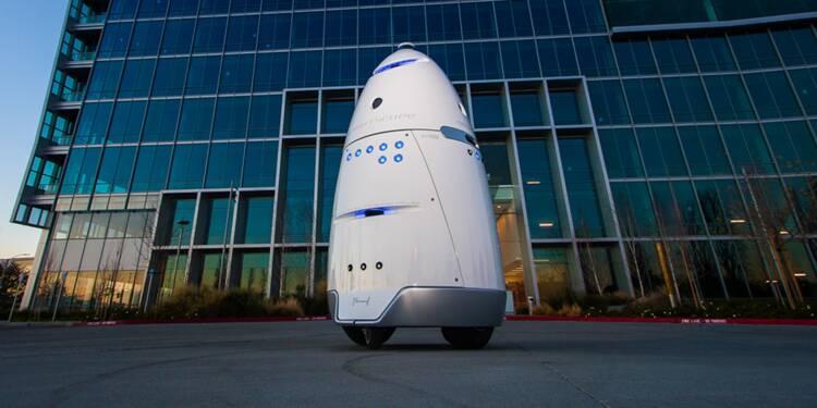 Découvrez les robots vigiles, les policiers et patrouilleurs de demain