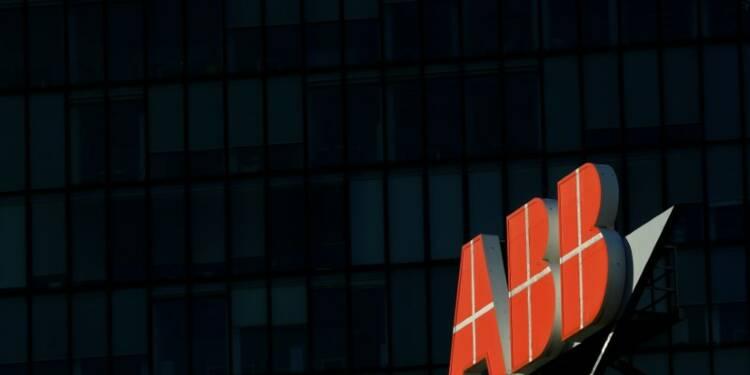Les prises de commandes d'ABB baissent de 14% de au 3e trimestre