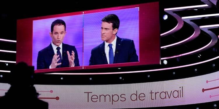 Hamon se sent plus proche de Mélenchon, Valls de Macron