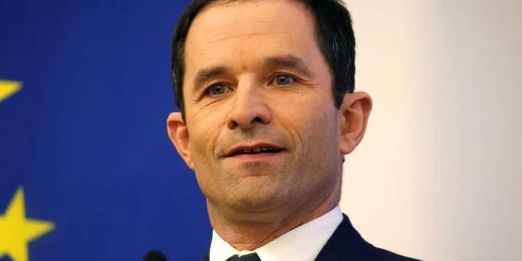 Hamon veut un parlement de la zone euro pour en finir avec l'austérité