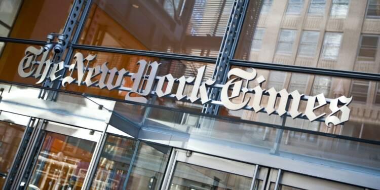 New York Times: fonte des bénéfices, chute de la publicité papier