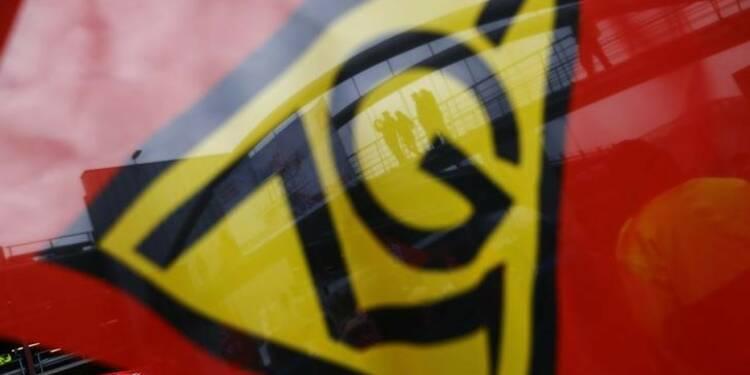 Allemagne: Appel à la grève d'IG Metall dans la métallurgie