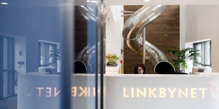 chez linkbynet  on sort des limites du cadre de travail