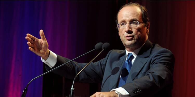 Pour Hollande, la réforme des retraites garantit l'avenir