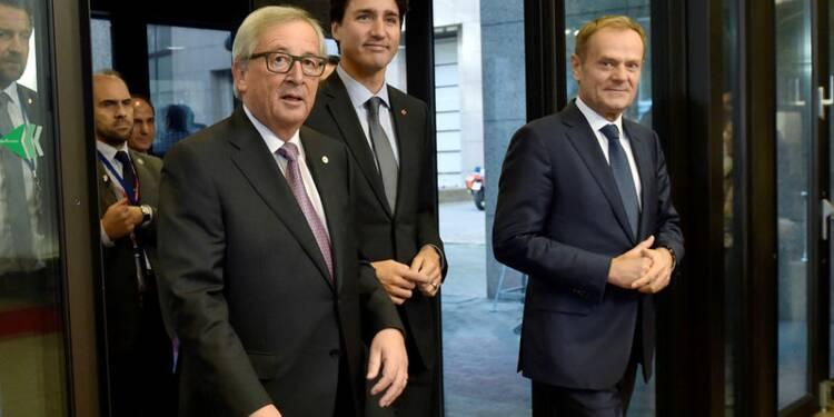 Le Canada et l'UE signent le traité CETA de libre-échange