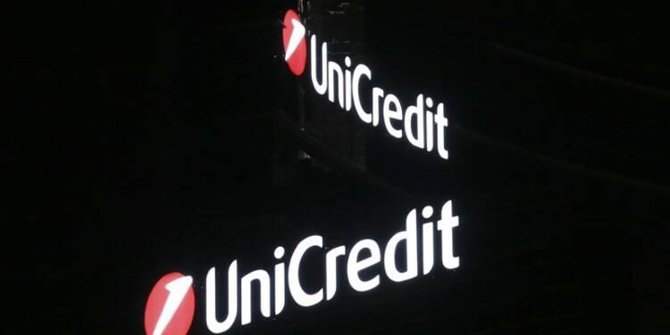 UniCredit donnera les conditions de l'appel au marché données début février