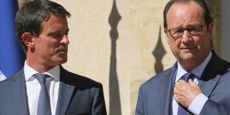 Valls rejoint Hollande dans l'impopularité