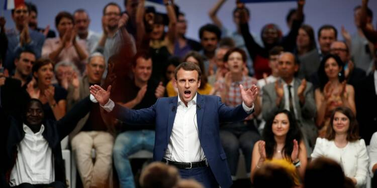 """Sky is the limit"", assure Emmanuel Macron"