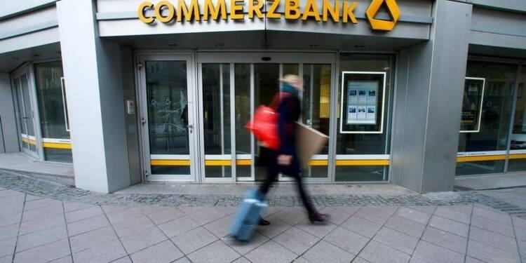 Commerzbank ne prévoit pas de dividende en 2017-2018