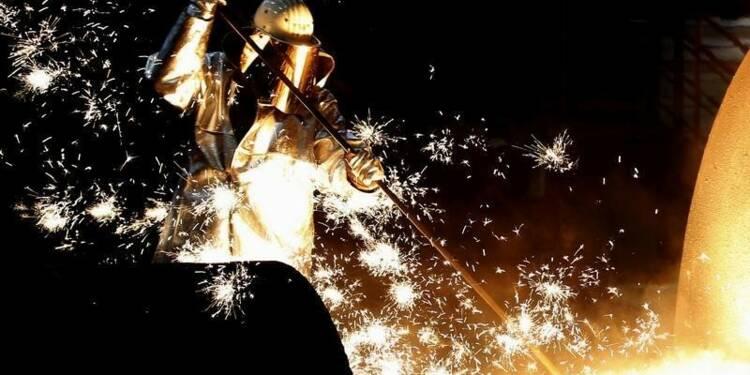 La production industrielle en Allemagne augmente plus que prévu