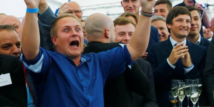 L'AfD inflige un camouflet à Merkel dans son fief