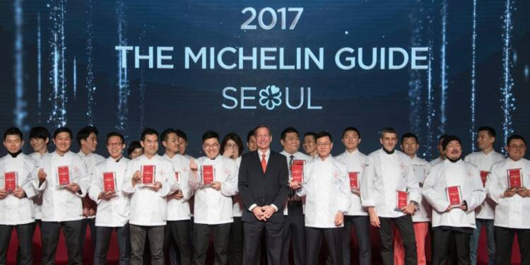 Le guide Michelin débarque à Séoul