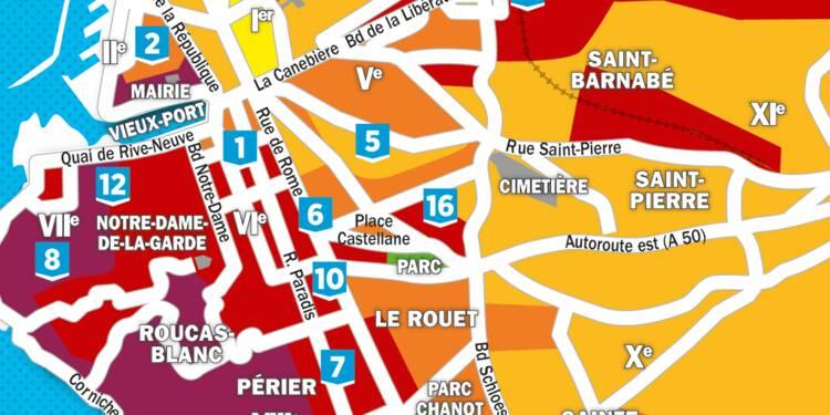 L'immobilier dans 20 grandes villes : les prix ont-ils augmenté dans votre quartier ?