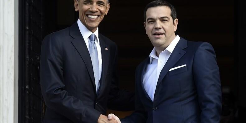 La dette grecque au centre de la visite d'Obama à Athènes
