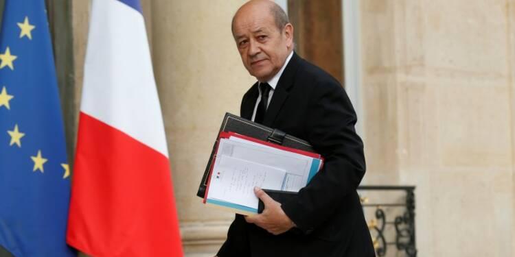 Le Drian souhaite relancer l'Europe de la Défense d'ici décembre