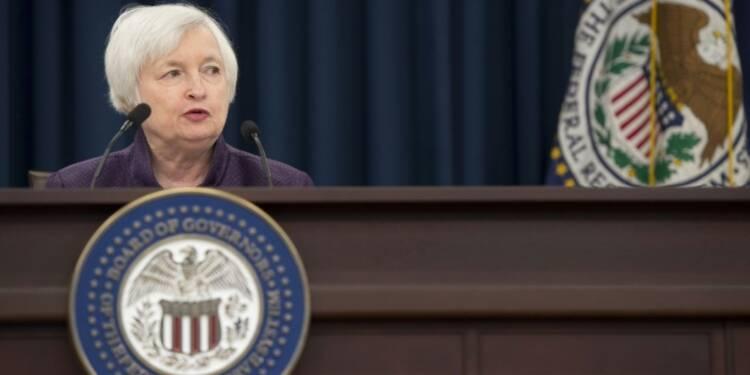 """Etats-Unis: une hausse des taux devrait intervenir """"assez vite"""", selon la Fed"""