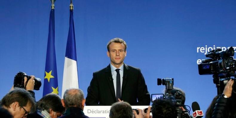 Macron candidat à l'élection présidentielle