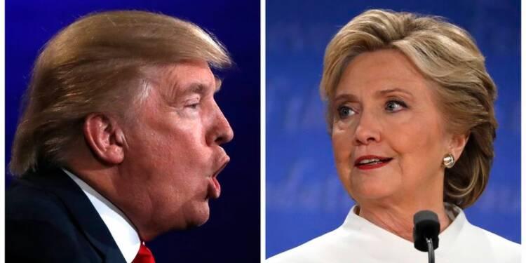 Clinton et Trump s'accusent mutuellement d'incompétence