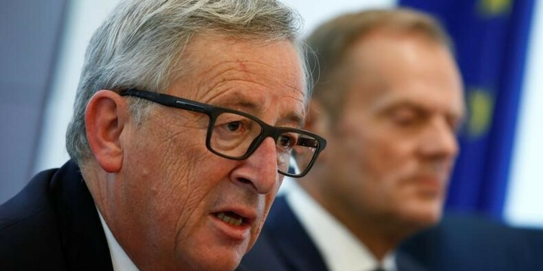 Juncker et Tusk invitent Trump à un sommet UE-USA