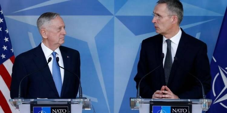 Mattis demande aux pays de l'Otan d'honorer leurs obligations