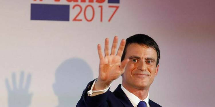 Valls, devancé par Hamon, appelle à la mobilisation