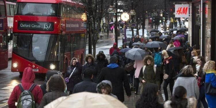 Baisse inattendue des ventes au détail en janvier en Grande Bretagne