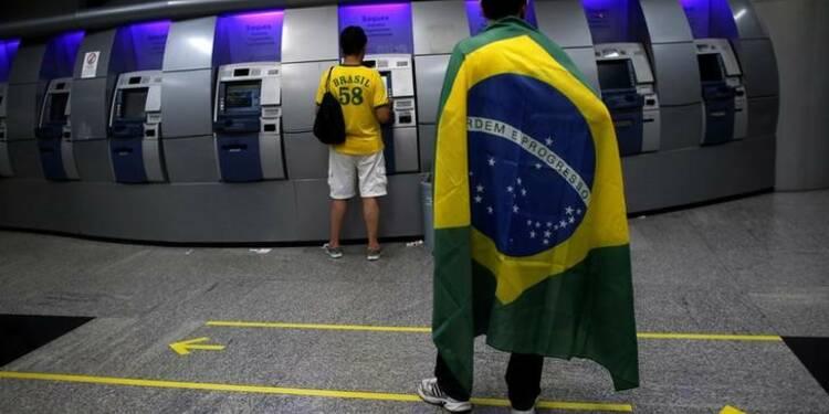 L'économie brésilienne se contracte encore