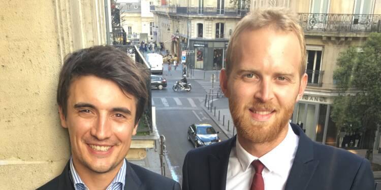 Jérôme Proust et Florian Boret : avec leurs chèques cadeaux, on peut acheter sur Internet