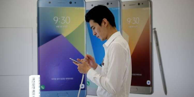 Samsung suspend la vente de ses Galaxy Note 7