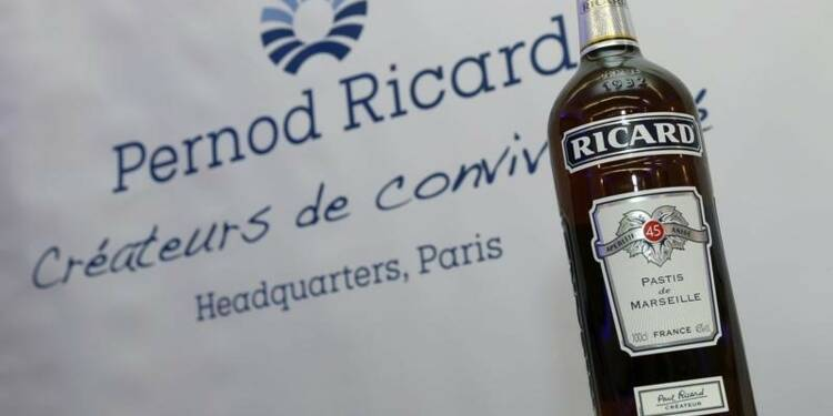 Pernod Ricard fait mieux que prévu grâce aux USA et à la Chine