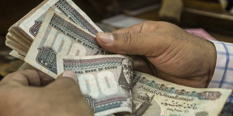 L'Egypte laisse flotter sa devise pour faire face à la crise