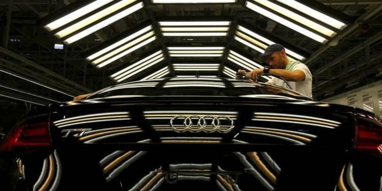 Audi réduit ses prévisions de résultats à cause des changes