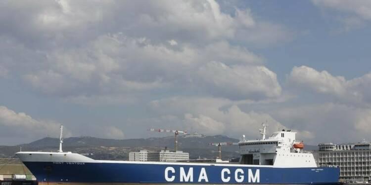 L'armateur CMA CGM dans le rouge, décale la livraison de navires