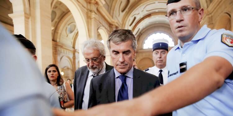 Jérôme Cahuzac condamné à 3 ans de prison ferme, va faire appel
