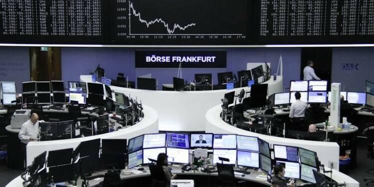 Les Bourses européennes dans le rouge à l'ouverture