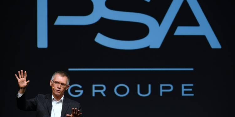 """PSA affiche un """"record de rentabilité"""" au 1er semestre et double son bénéfice"""