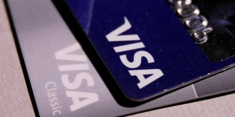 Visa fait mieux qu'attendu au 1er trimestre, l'action monte