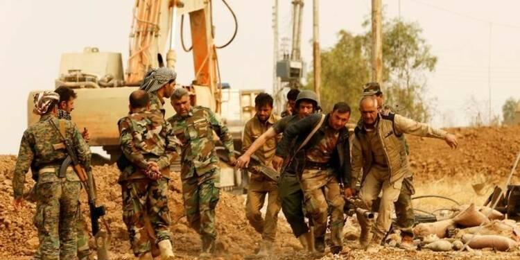 La coalition anti-EI prévoit une concomitance Mossoul-Rakka