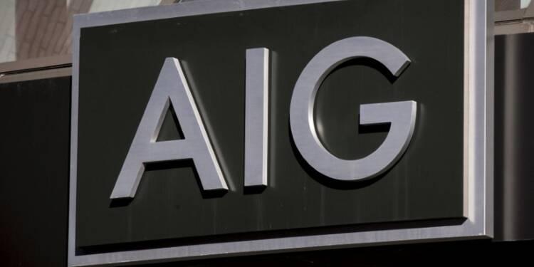 Le directeur général d'AIG sur la sellette